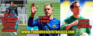 Quien Sera El Portero Titular Del Barça ¿Marc Ter Stegen o Claudio Bravo?